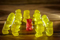 Gummy bear Royalty Free Stock Photo