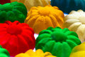 Gummy candy some sweet colorful close up Stock Images