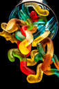 Gummy jelly candy Royalty Free Stock Photo