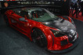 Gumpert apollo s at the geneva motor show on display during switzerland march Royalty Free Stock Photos