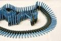 Gun ammo Royalty Free Stock Photo