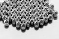 Gun bullets over white background Royalty Free Stock Image