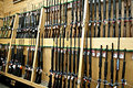 Gun department Royalty Free Stock Images