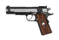 Gun pistol Royalty Free Stock Photo
