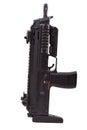 Gun riffle MP7 Royalty Free Stock Photo