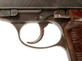 Gun trigger Royalty Free Stock Photo
