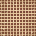 Gunny textured background brown illustration Stock Photography