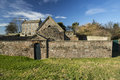 The gunpowder magazine in berwick upon tweed northumberland england was built in to service berwick barracks and sited at a safe Royalty Free Stock Photo