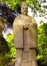 Guo Pu Scholar statue Royalty Free Stock Photo