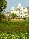 Gurudwara寺庙在普斯赫卡尔,印度 免版税库存图片
