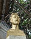 Gustave eiffel bust by antoine bourdelle Stock Photography