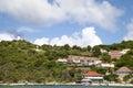 Gustavia harbor st barts french west indies november at Stock Photo