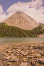 Gusty Peak and Chester Lake Royalty Free Stock Photo