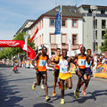 Gutenberg Marathon 2011 in Mainz, Germany Stock Photo