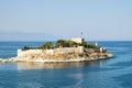 Guvercin Ada, (Pigeon Island) with Kusadasi Castle, Kusadasi, Turkey
