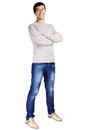 Guy with crossed arms Royalty Free Stock Photo