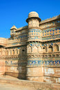 Gwalior Fort,  Gwalior,  India Royalty Free Stock Photo