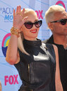 Gwen stefani no doubt of at the teen choice awards at the gibson amphitheatre universal city july los angeles ca picture paul Stock Photo