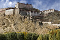 Gyantsie Fort - Tibet - China Royalty Free Stock Images