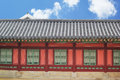 Gyeongbok palace in south korea Stock Photo