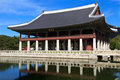 Gyeonghoeru Pavilion in Seoul, South Korea Royalty Free Stock Images