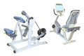 Gym apparatus the image of Stock Image