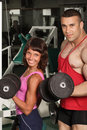 Gym champion Stock Photography