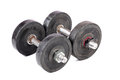 Gym dumbbells Royalty Free Stock Photo