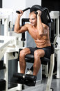 Gym training Stock Images