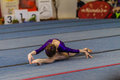 Gymnast Young Girls Floor Dance Style