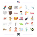 Gynecology, business and other web icon in cartoon style.food, animal, medicine icons in set collection.