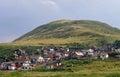 Gypsy colony in janovce eastern slovakia Royalty Free Stock Photography