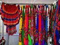 Gypsy skirts - colored skirts and scarves