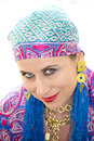 Gypsy woman Royalty Free Stock Image