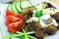 Gyros greek specialty made from meat Royalty Free Stock Photography