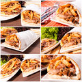 Gyros time Royalty Free Stock Photography