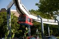 The h bahn in dortmund monorail technical university of Royalty Free Stock Photography