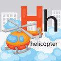 H for helicopter