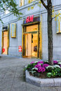 H&M Newbury Street, Boston, MA. Royalty Free Stock Photo