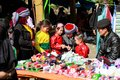 HA GIANG, VIET NAM, January 07, 2017 Hmong family, Ha Giang mountainous region, Vietnam, loving children. Royalty Free Stock Photo