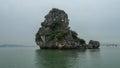 Ha long bay in vietnam is taken Stock Photo