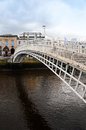 Ha penny bridge Royalty Free Stock Image