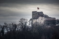 Habsburg castle located in the aargau switzerland Royalty Free Stock Photo