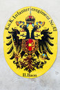 Habsburg Coat of Arms Stock Photography
