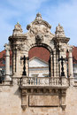 Habsburg Gate in Budapest Royalty Free Stock Photos