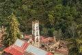 Hacienda Santa Maria Regla, Hidalgo. Mexico. Royalty Free Stock Photo