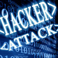 Hacker attack Stock Photography