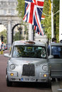 Hackney Carriage, London Taxi Stock Image