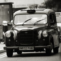Hackney Carriage, London Taxi Royalty Free Stock Images