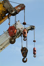 Haczyków żurawi mobile kilka Obraz Stock
